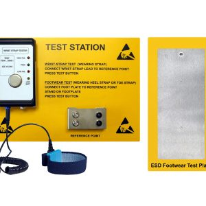 EEBCSTAT Test station for ESD wristband and footwear