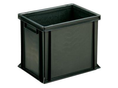 ESD Conductive Container Newbox Black