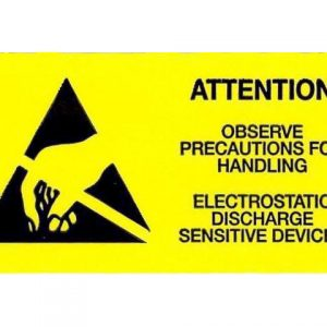 ATTENTION Adhesive label 50x25 mm