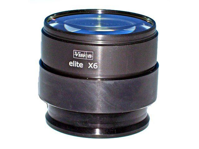 Obiettivo 6x per microscopio stereoscopico Mantis Elite - Vision Engineering