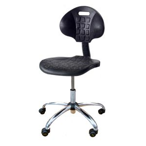 Antistatic ESD Chair made of PU 24P mod. with Wheels