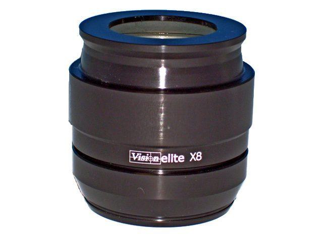 Obiettivo 8x per microscopio stereoscopico Mantis Elite di Vision Engineering