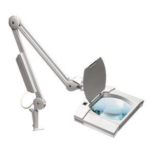 Rectancular Economy magnifyng lamp