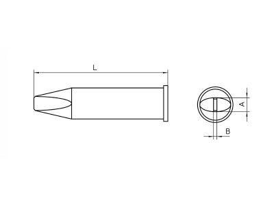 XHTD Punta saldante Weller a cacciavite | T0054480199