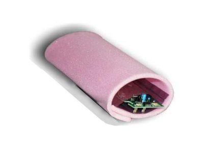Spugna antistatica ESD morbida statico dissipativa, colore Rosa