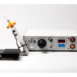 Digital dispensing system for solder paste and gel fluxes