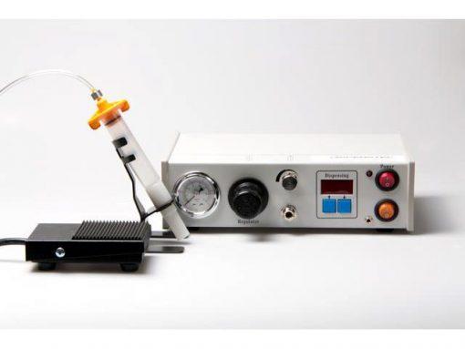 Dispensatore digitale di creme e flussanti