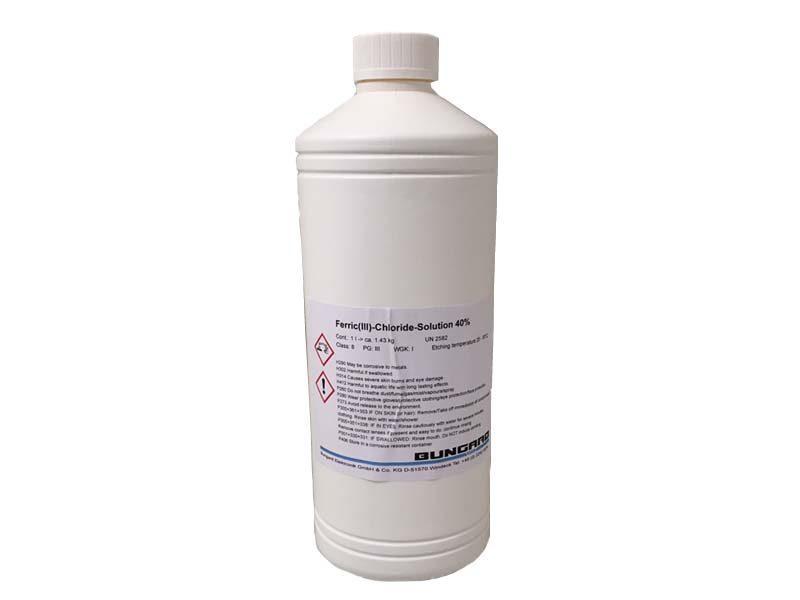 Cloruro ferrico liquido Bungard (soluzione acquosa 40%, 1L)