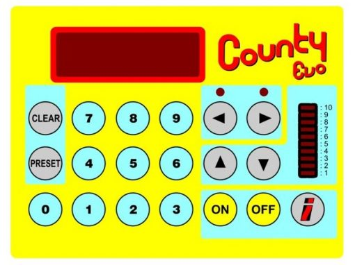 County EVO | Contapezzi per conteggio PTH nastrati e radiali