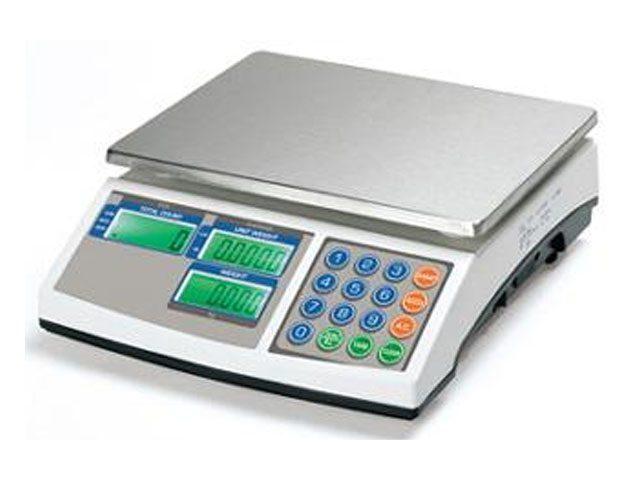 ECS06 Bilancia contapezzi con portata massima 6Kg