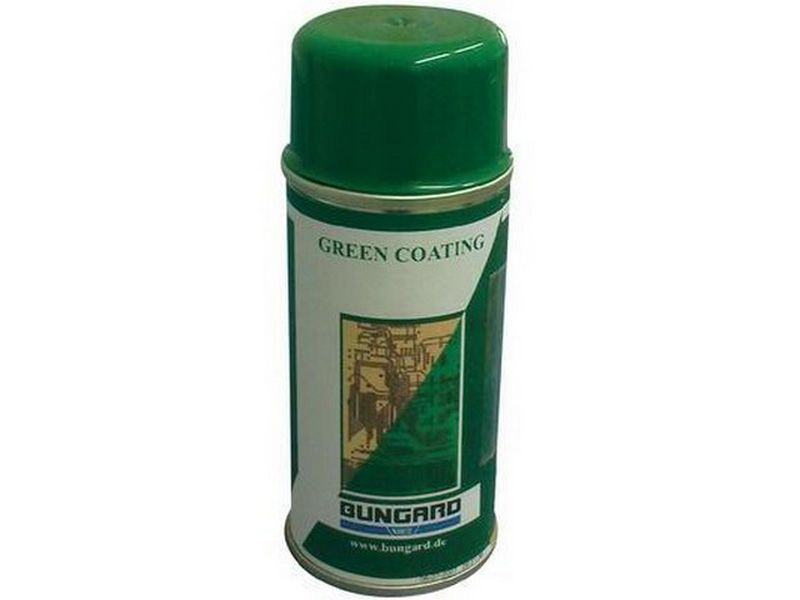 Bungard Green Coat - Spray coating for PCBs (300ml)