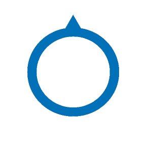 Blue pointer Ø 15mm (10pz)