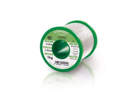 Filo saldante Stannol 810044 - Filo per saldatura a stagno Lead-Free