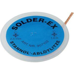 Copper desoldering wick Stannol for Sn/Pb alloys
