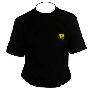 T-Shirt ESD nera
