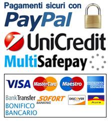 Metodi di pagamento attivi