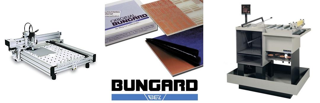 Macchine e prodotti Bungard per la prototipazione di circuiti stampati