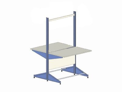 El.Mi WB-plus HS back to back ESD Workbench 120x85cm