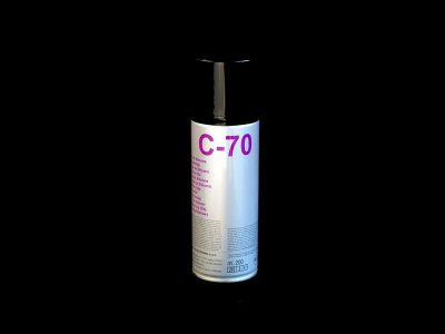 C-70 Olio di silicone spray DUE-CI Electronic (200ml)