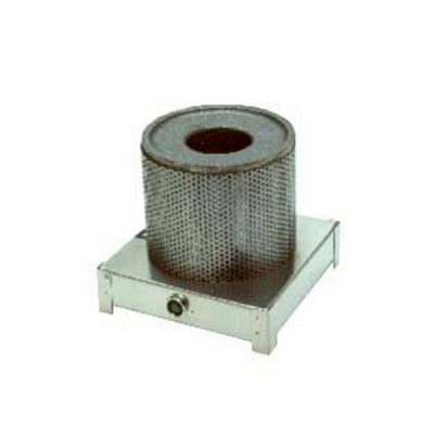 2040 Soldering pot with roud section