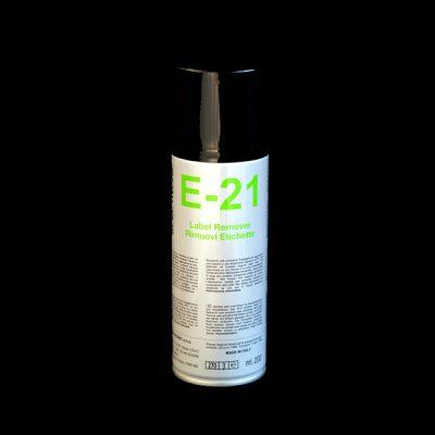 E21 Label remover