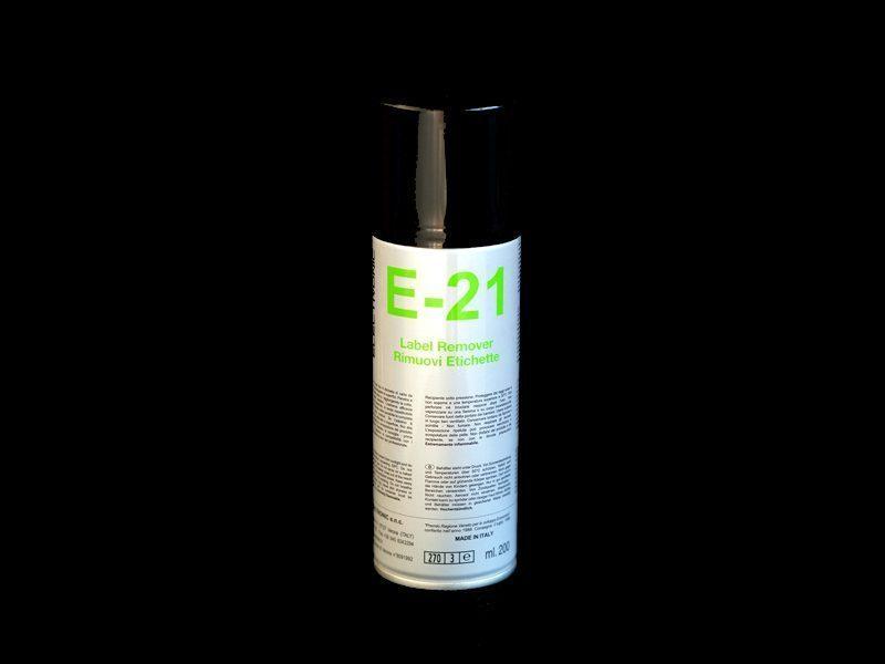 Rimuovi etichette spray professionale E-21 (200ml)