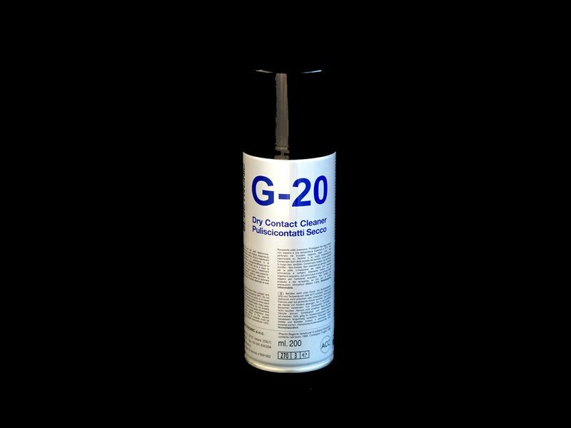 G-20 Puliscicontatti secco spray DUE-CI Electronic (200ml)