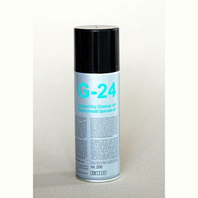 G24 Puliscicontatti speciale in bomboletta Due-Ci Electronic (200ml)
