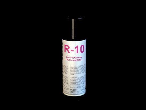 R-10 Puliscicontatti Due-Ci Electronic in bombletta da 200ml