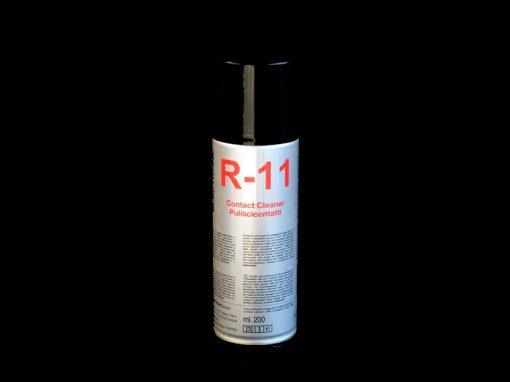 R-11 DUE-CI Electronic - Spray puliscicontatti antiossidante (200ml)