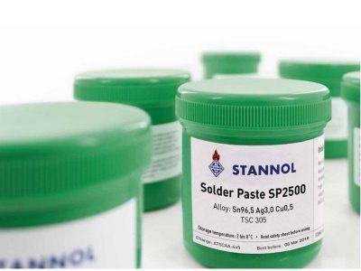 SP 2500 Stannol LF Solder Paste