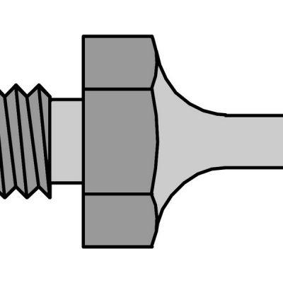 51355299 DS120 Desoldering nozzle