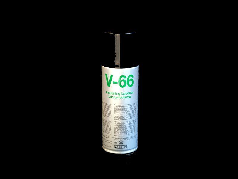 Lacca isolante trasparente spray V-66 DUE-CI Electronic (200ml)