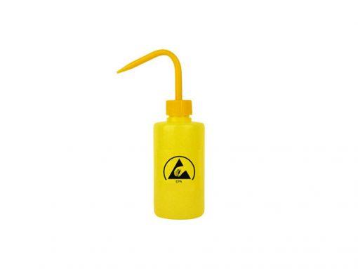 Bottiglia dispenser ESD gialla con beccuccio