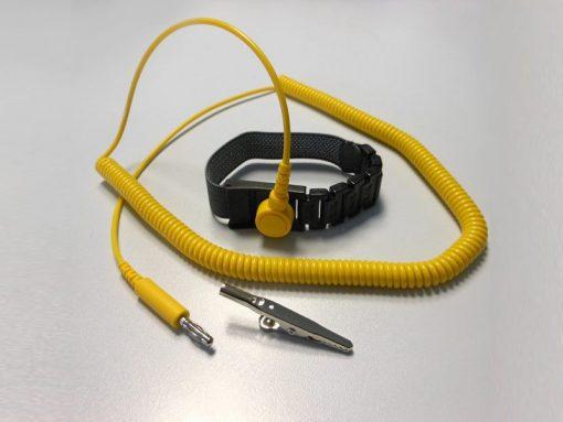Bracciale antistatico ESD Modular Deluxe bottone/banana