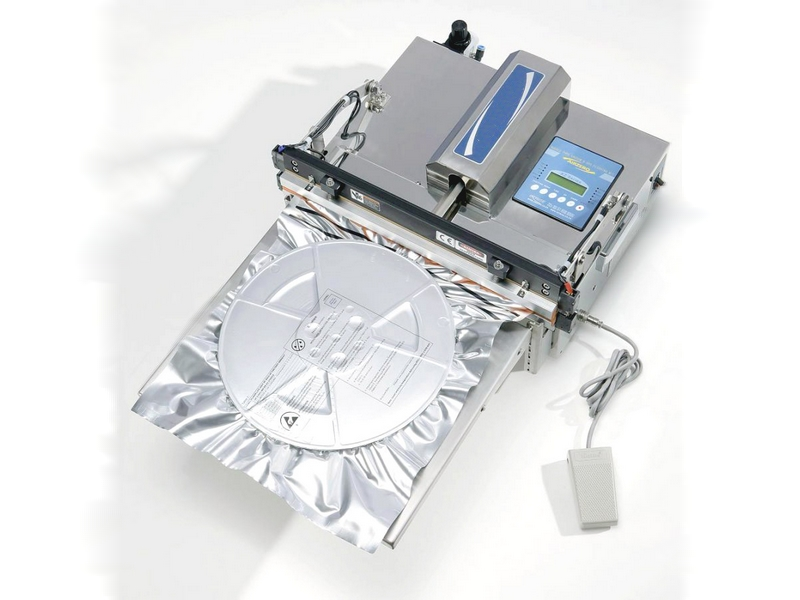EM Heat sealer machine with nozzle