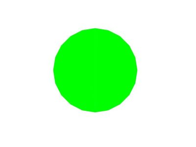 Cappuccio per manopola 29mm Verde bombato lucido