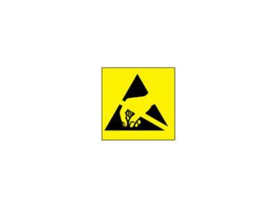 Etichetta adesiva con simbolo ESD confezione