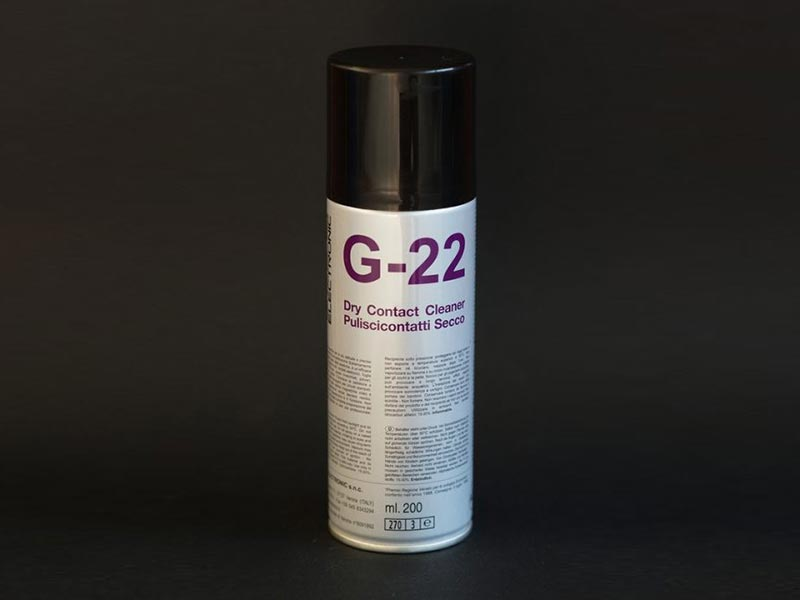 Puliscicontatti secco spray G-22 DUE-CI Electronic (200ml)
