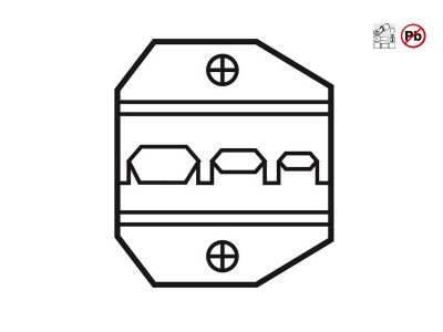 1PK-3003D1 Pro'sKit - Testa per crimpatura terminali isolati