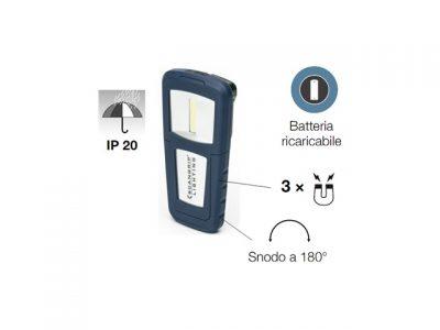 Miniform - Lampada portatile a Led COB (55/125 lumen)