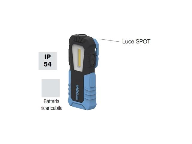Lampada LED portatile ricaricabile per ispezione ottica