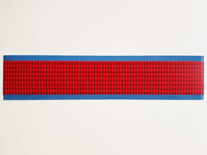 Etichetta segnalatrice adesiva rossa - 576 pezzi
