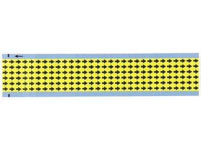 Etichette freccia gialla