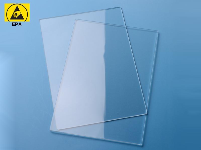 Lastra acrilica trasparente ESD