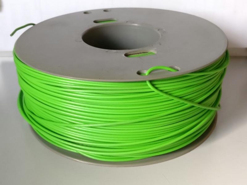 Bobina di filo verde AWG