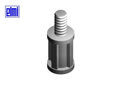 Distanziale per circuiti stampati mod. NY - Fissaggio: Maschio/Femmina