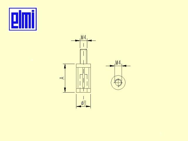 Dimensioni distanziali NY M/F