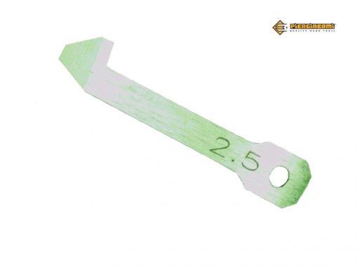 LDPP Lama centrale di ricambio per depannellizzatore pneumatico DPP Piergiacomi (2.0-2.3-2.4-2.5 mm)