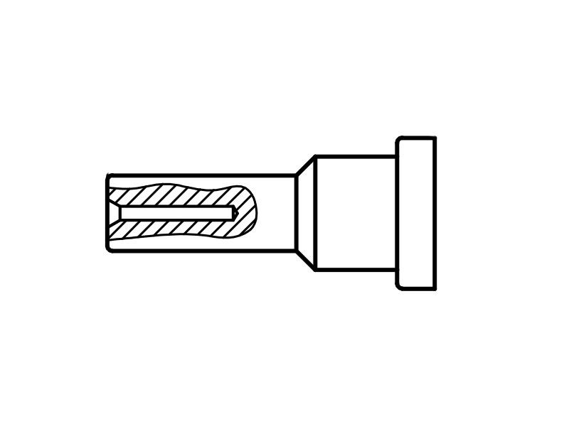 Weller T0054441699 Punta di calibrazione LT
